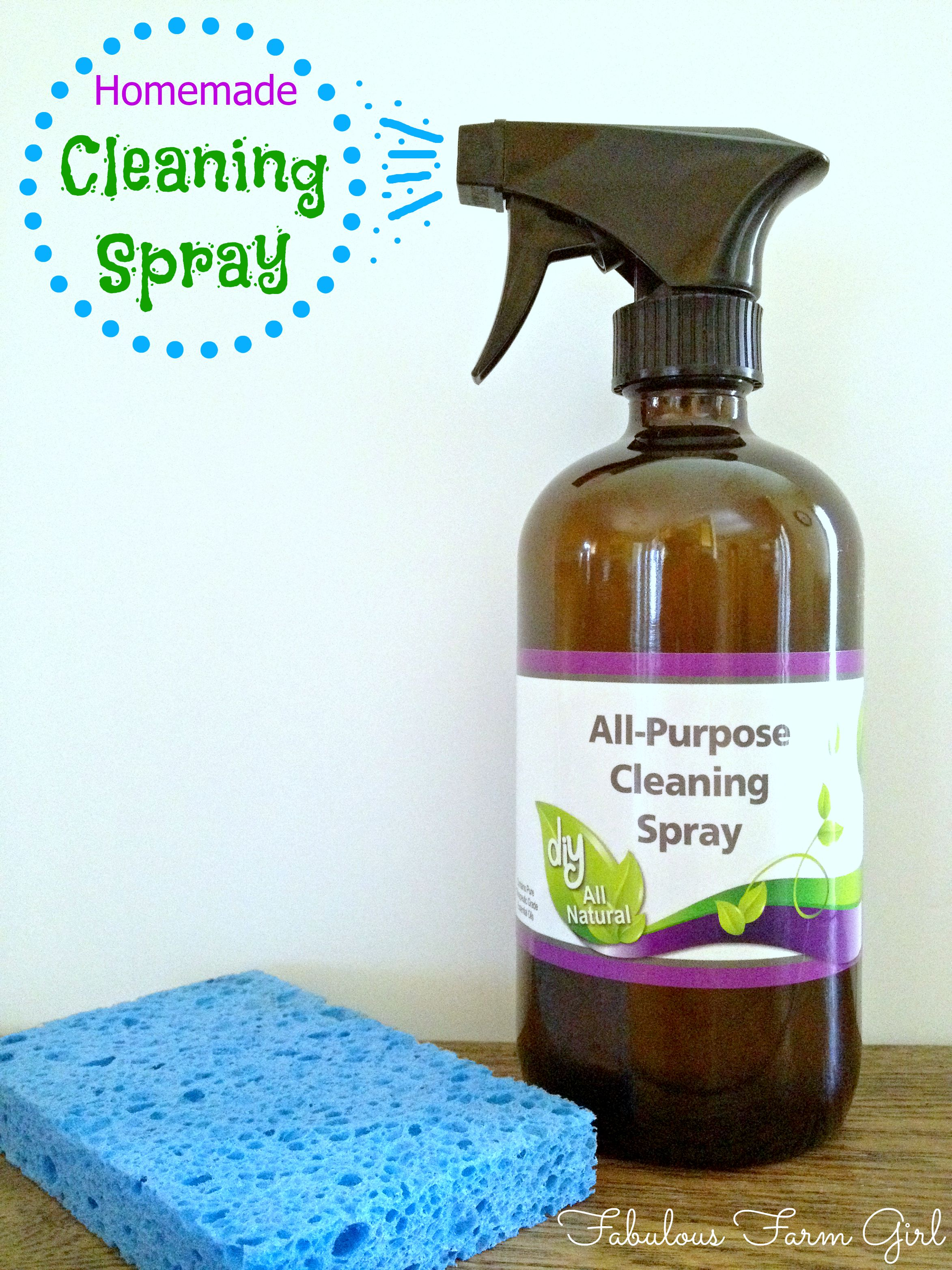 All Purpose Cleaner | Fabulous Farm Girl