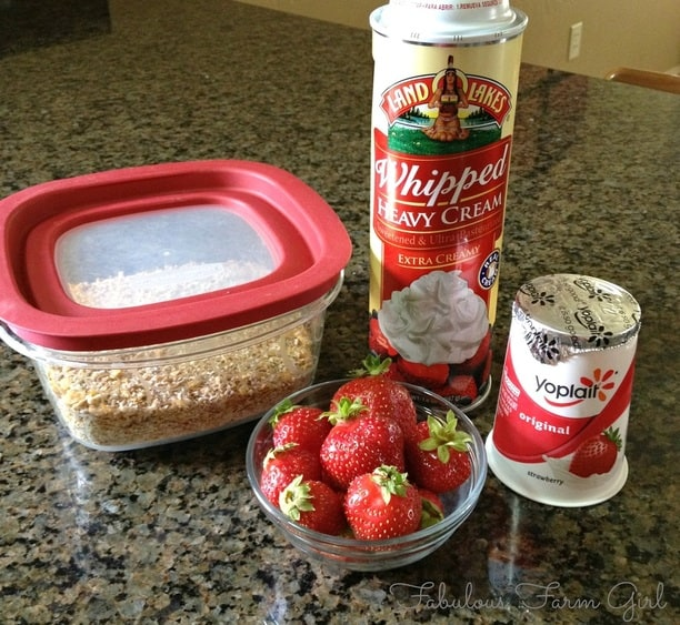 Yogurt Parfait by FabulousFarmGirl. A fast and easy breakfast of snack using a secret ingredient...cereal dregs. Genius!