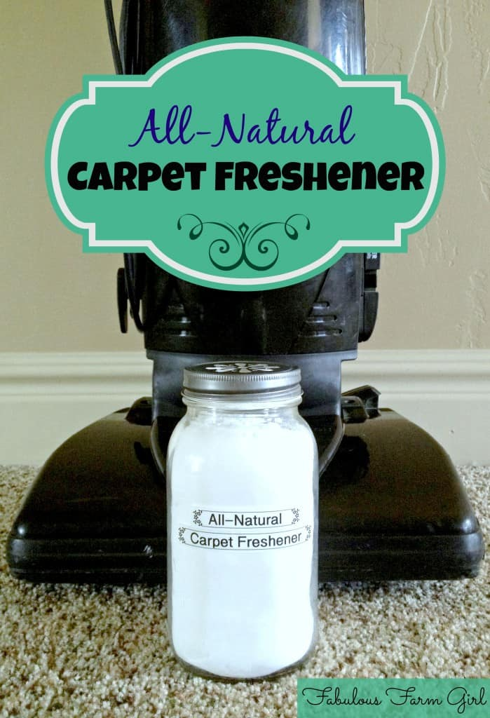 All-Natural Carpet Freshener by FabulousFarmGirl. You won't believe how much better this smells than the store-bought stuff.