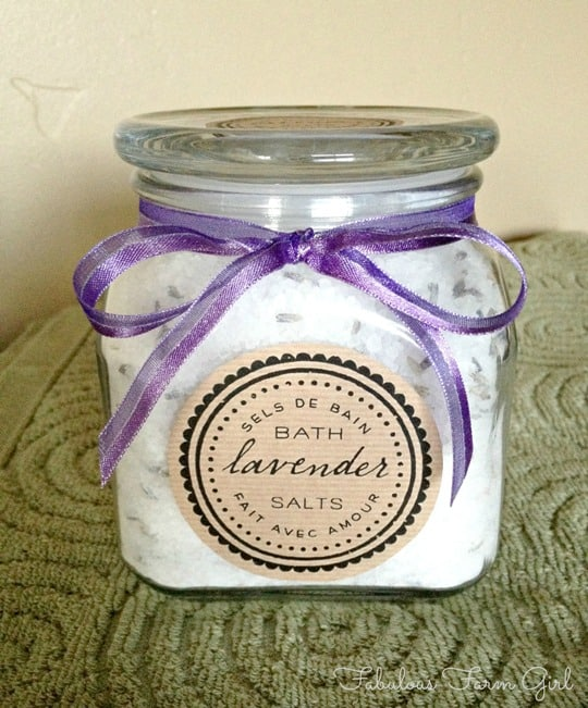 Lavender Bath Salts by FabulousFarmGirl. Lavender take me away...