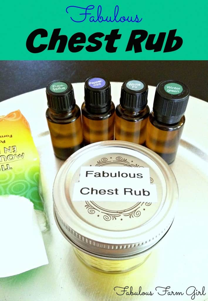 Fabulous Chest Rub by FabulousFarmGirl. Made with real essential oils not artificial fragrance so it works!