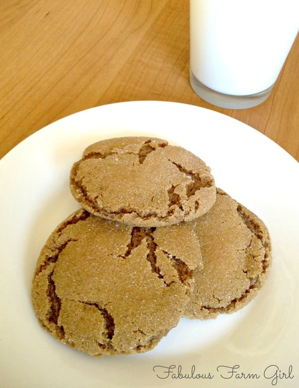 Brown Butter Gingerbread Cookies by FabulousFarmGirl. Brown butter is the bomb!