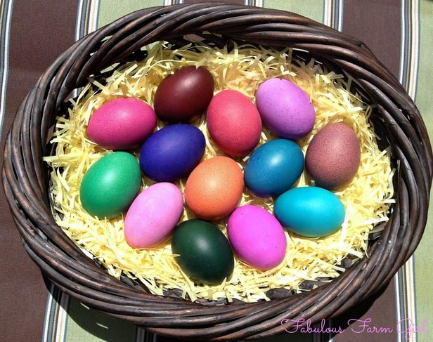 Jewel-Toned Easter Eggs