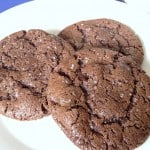 Double Chocolate Salted Cookies