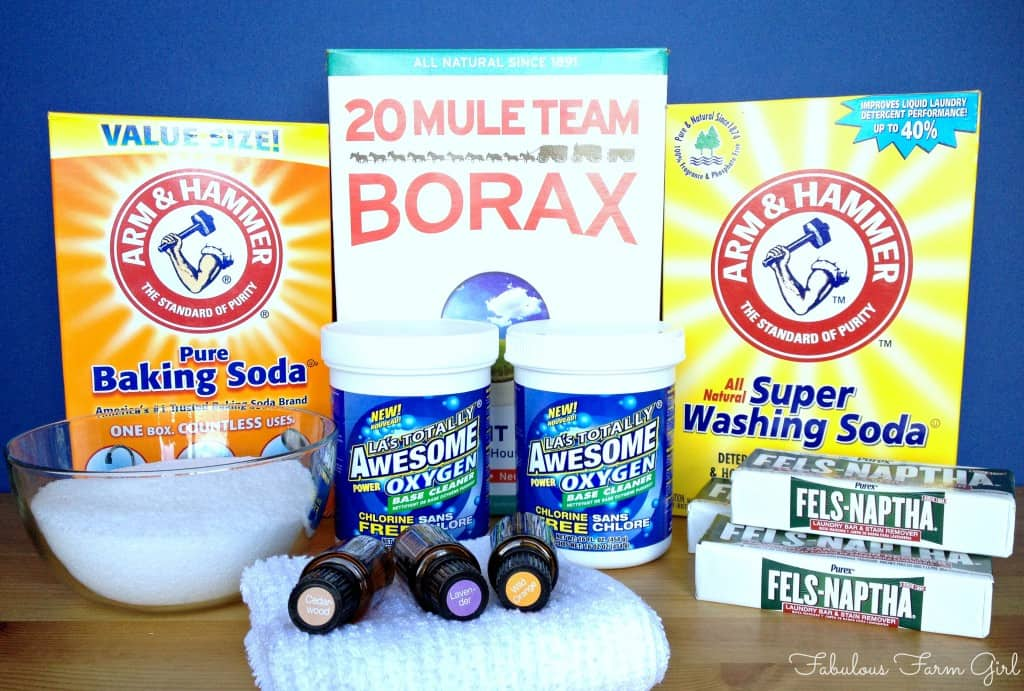 Homemade Laundry Detergent by FabulousFarmGirl. It's cheap, it's easy and it's the best laundry detergent I've ever used.