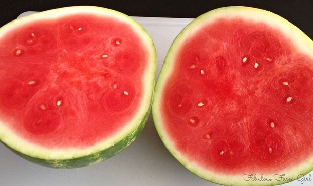 How To Pick A Perfect Watermelon