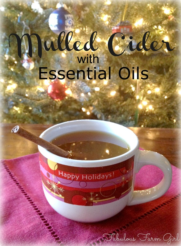 Mulled Cider With Essential Oils by FabulousFarmGirl. So easy and most delicious mulled cider you've ever tasted.