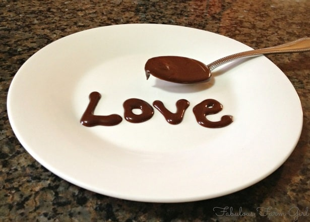 Chocolate Ganache by FabulousFarmGirl. Five minutes to chocolate bliss!