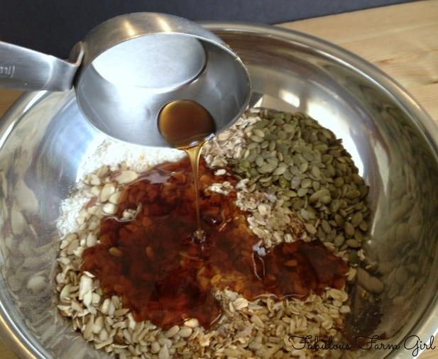 Homemade Honey Granola by FabulousFarmGirl. So good and not just for breakfast!