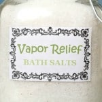Vapor Relief Bath Salts