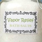 Vapor Relief Bath Salts