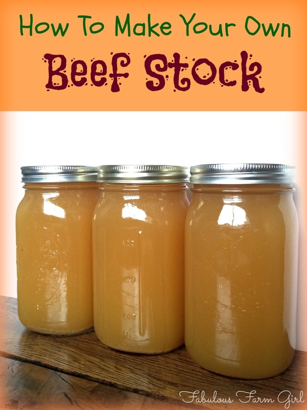 How To Make Your Own Stock by FabulousFarm Girl. So easy, delicious and good for you that you'll never use store-bought again.