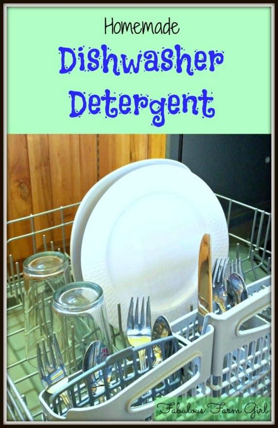 homemade dishwasher detergent fabulous farm girl. Black Bedroom Furniture Sets. Home Design Ideas