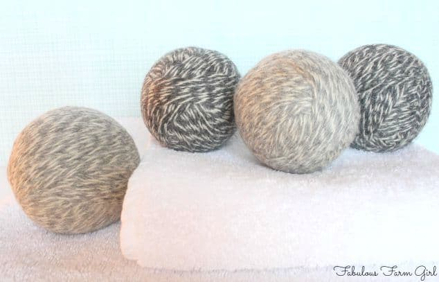 Make Your Own Dryer Balls