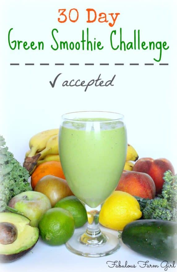 30 Day Green Smoothie Challenge by FabulousFarmGirl. Follow the campaign to build a school in Zambia and enter to win some amazing prizes.