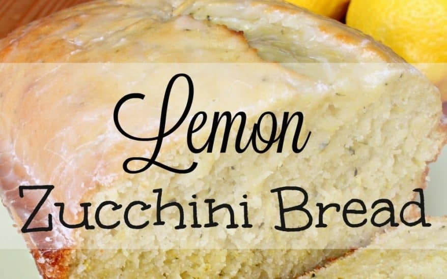 Lemon Zucchini Bread and a book review by FabulousFarmGirl.com. Lemon takes this otherwise boring quick bread and takes it to a whole new level. YUM!